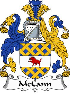 McCann Clan Coat of Arms