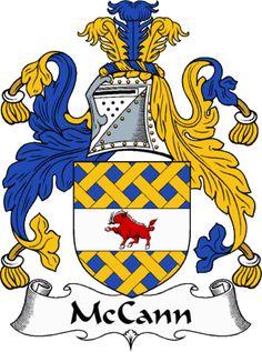 McCann Clan Coat of Arms