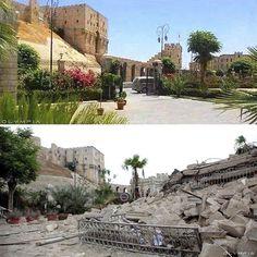 (Foto: Reprodução/Hannah Karim) a cidade de Alepo, a maior da Síria