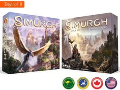 Breed dragons and explore the wilds in search of resources and fame in a gripping 60-minute strategy board game for 2-5 players.