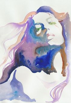 Art | Painting - Want to play with watercolour again, love the watercolour portrait.