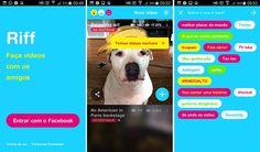 Facebook lança o Riff para competir com Vine e Snapchat.