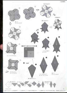 Letter Folding, Paper Folding, Origami Envelope, Origami Paper, Origami Leaves, Origami Diagrams, Paper Art, Paper Crafts, My Flower