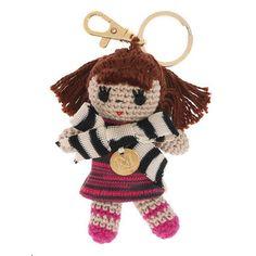 Missoni Doll Keychain :)