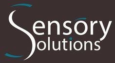 """New Logo Design for Sensory Solutions. We designed 3 versions playing with the different colours. Their market is the visually impaired, so the 'eyebrow' on the O and the blue dot in the I was all part of simulating """"vision"""" without specifically using an eye (as requested by the owner)."""