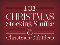 Laura Mae Creates: 101 Christmas Stocking Stuffers & Christmas Gift Ideas