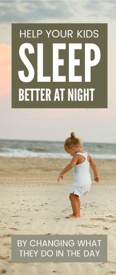 Help your kids sleep better at night