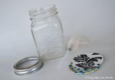 DIY+Mason+Jar+Soap+Pump