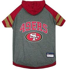 Pets First San Francisco 49Ers Hoodie T-Shirt, Medium