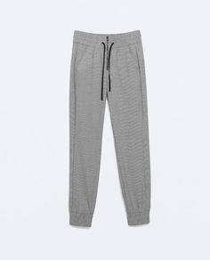 ZARA - TRF - PRINTED JOGGING TROUSERS