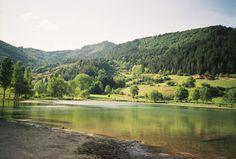 Favourite honeymoon swim spot in the Pyrenees, France