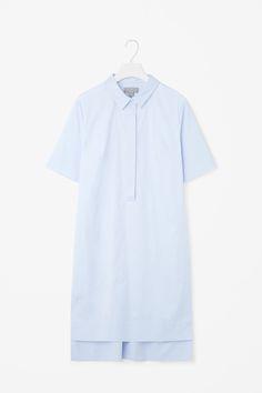 COS | Grosgrain detail shirt dress