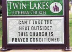 Prayer Conditioning