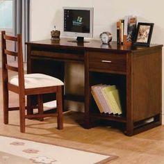 Meja kerja kayu jati jepara