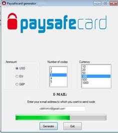 Online Paysafe Card