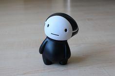 Kuro / The Art Toys Collection Toy Art, Vinyl Toys, Vinyl Art, Art Jouet, Japanese Toys, 3d Prints, Cute Toys, Designer Toys, Sculpture
