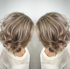Ash blonde bob highlights and lowlights platinum blonde