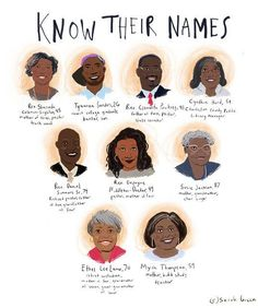 Beautiful: Know Their Names | by illustrator Sarah Green