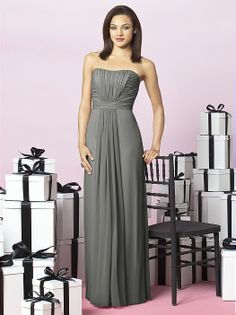 After Six Bridesmaids Style 6640 http://www.dessy.com/dresses/bridesmaid/6640/?color=platinum=64#.UgmBLWt5mK0