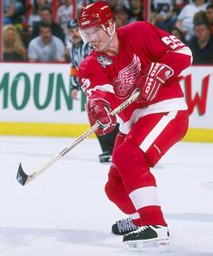Larry Murphy #55 instrumental in winning the '97 & '98 Stanley Cups. Murphy was obtained in trade from TOR. He won the Cup twice earlier with PIT.