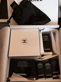 Some beauty Chanel products..