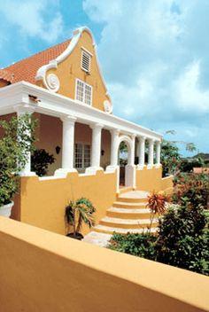 Landhuis in Curacao