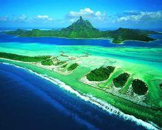 Bora Bora, looks like fun to me.