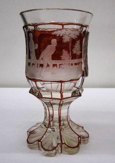 Goblet | Corning Museum of Glass Corning Glass, Corning Museum Of Glass, Cut Glass, Glass Art, Joseph, Glass Design, Earth Tones, Fiber Art, Pottery