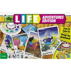Game of Life Adventures Edition Toys Uk, Kids Toys, Toys Australia, Gaming, Family Board Games, Winning The Lottery, Tk Maxx, Toys Online, Life Is An Adventure