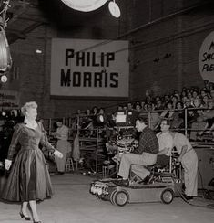 I Love Lucy - on the set before the show.