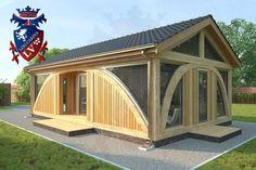 SunShine-Glulam-Timber Frame- 5.5m x 9.0m Garage. Designed by www.logcabins.lv (5)