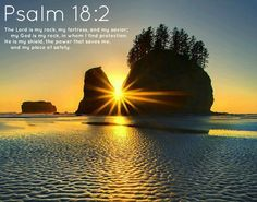 Psalm 18:1 I love you, Lord;   you are my strength.   2 The Lord is my rock, my fortress, and my savior;   my God is my rock, in whom I find protection.   He is my shield, the power that saves me,     and my place of safety.   3 I called on the Lord, who is worthy of praise,   and he saved me from my enemies.