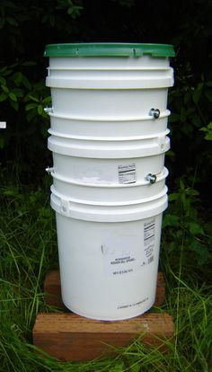 Stackable Worm Bin Vermicomposting System from by andrewsreclaimed, $43.00