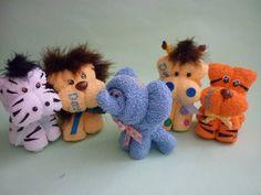 Recuerdo Invitación Toalla Bautizo Baby Shower Animalitos - $ 35.00