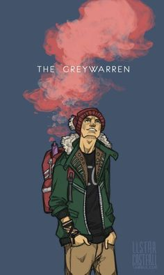 Ronan Lynch: the greywarren, my go-to depictions of him