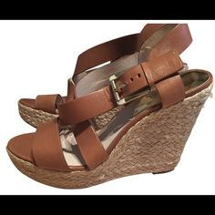 Michael Kors wedges Lightly worn wedges but in fantastic shape! I'm not worn 3 times. MICHAEL Michael Kors Shoes Wedges