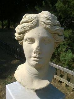 Ancient Statue from Claros Museum in Izmir, Turkey