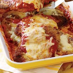 This chicken parmesan is an Italian classic that's easy to make and easy on your budget.