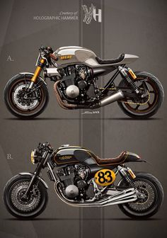 pinterest.com/fra411 - 1992 Honda CB 750 / It rocks bikes - by Holographic Hammer