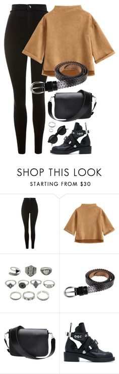 """10:40"" by monmondefou ❤ liked on Polyvore featuring Topshop and Balenciaga"