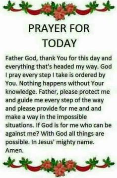 Amen, thank you Lord