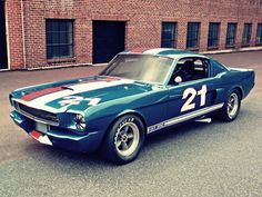 The Oldie But Goodie - 1966 Ford Mustang Shelby GT350H SCCA B-Production...