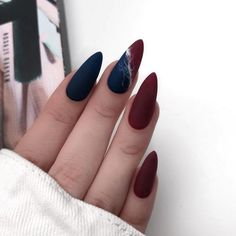 and Hottest Matte Nail Art Designs Ideas 2019 elegant almond matte nails design ideas; almond nails The post and Hottest Matte Nail Art Designs Ideas 2019 & Style appeared first on Fall nails . Matte Almond Nails, Natural Almond Nails, Short Almond Nails, Matte Nail Art, Cute Acrylic Nails, Nail Art Blue, Summer Nails Almond, Almond Nail Art, Almond Nails Designs
