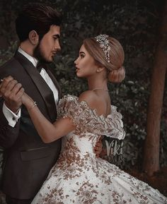 Black Aesthetic Wallpaper, Aesthetic Wallpapers, Romance Art, Wedding Art, Heaven, Couples, Wedding Dresses, Sexy, Cute