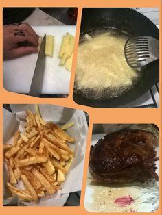 Domingazo #domingo #vacioalhorno #carnealhorno #papas fritas #foodporn
