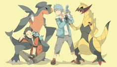 Pokemon trainers by SNEEDHAM507.deviantart.com on @deviantART