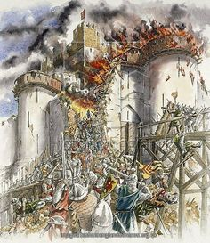 Dover Castle seige