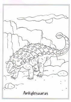 coloring page Dinosaurs on Kids-n-Fun. Coloring pages of Dinosaurs on Kids-n-Fun. More than coloring pages. At Kids-n-Fun you will always find the nicest coloring pages first! Coloring Pages For Boys, Coloring Book Pages, Printable Coloring Pages, Adult Coloring, Dinosaur Activities, Dinosaur Crafts, Dinosaur Coloring Sheets, Dinosaur Pictures, The Good Dinosaur