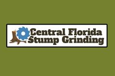 Central Florida Stump Grinding Logo Design