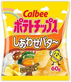 ポテトチップス しあわせバタ〜